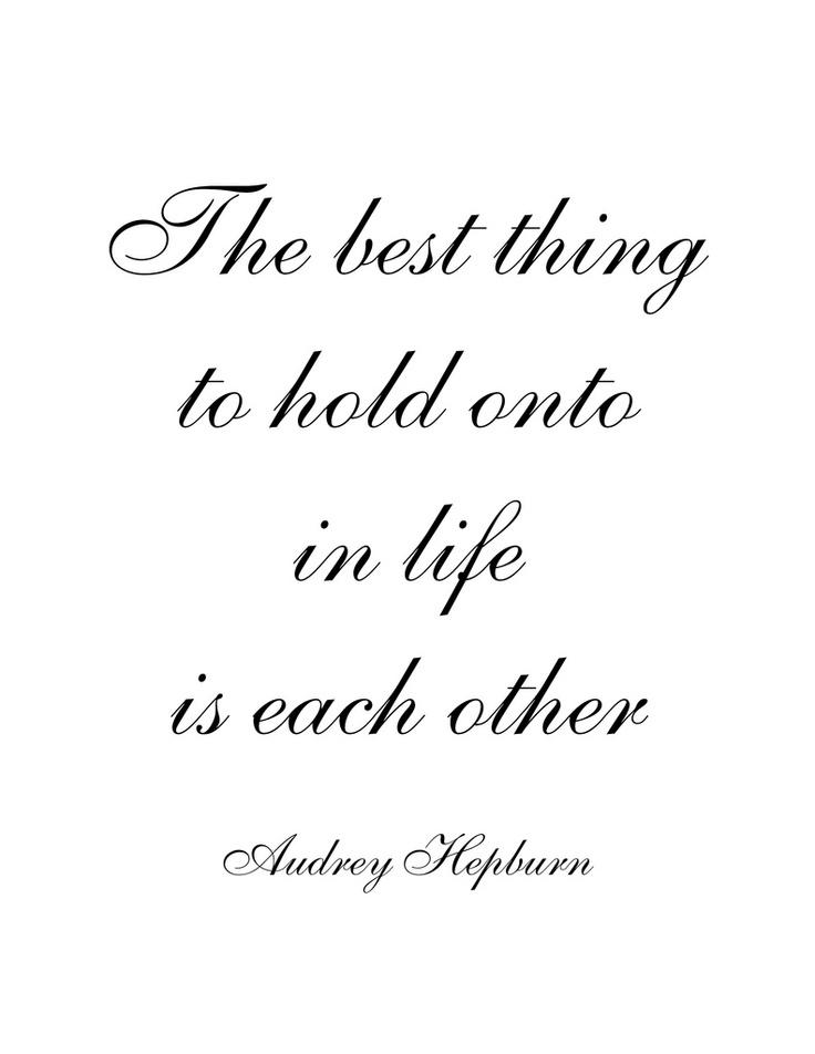 Quote Audrey Hepburn Wedding