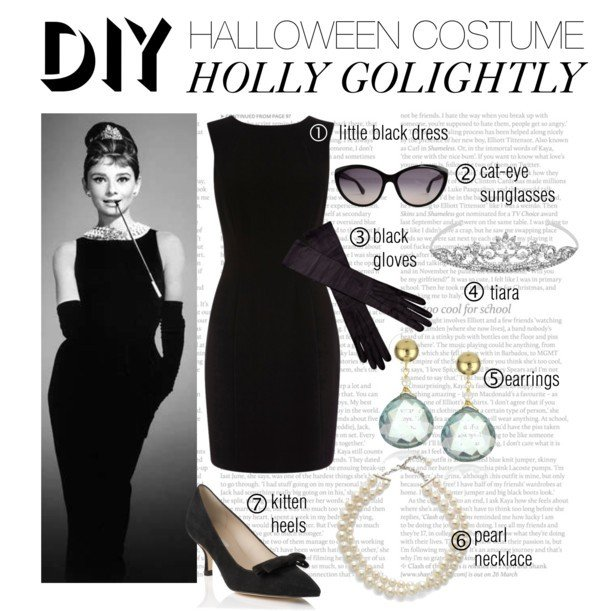 1Classic Holly Golightly Costume from u201cBreakfast at Tiffanyu0027su201d  sc 1 st  Everything Audrey Hepburn & 4 Great Audrey Hepburn Halloween Costume Ideas!