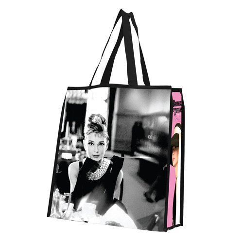 Audrey Hepburn Large Recycled Shopper Tote