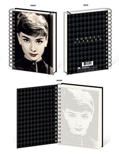 Audrey Hepburn Roman Holiday A5 Notebook