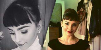 Mia Alexandra Jones - Stunning Audrey Hepburn Lookalike