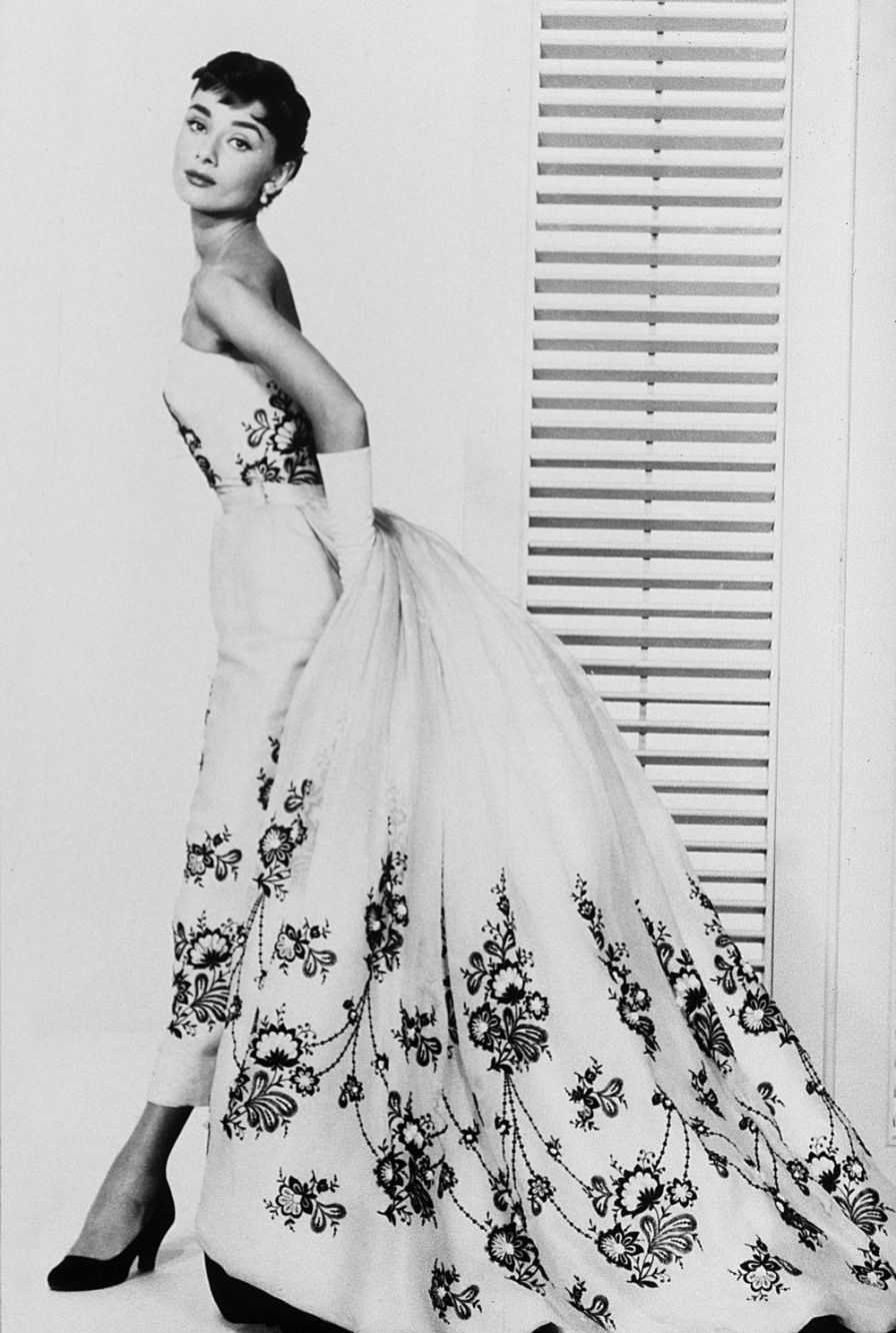 the top 5 most glamorous audrey hepburn dresses