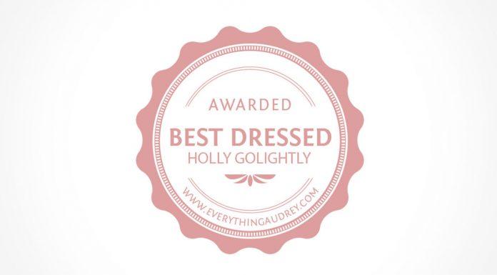 best dressed Holly Golightly Costume Award