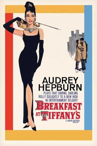 Breakfast at Tiffany's Poster Vintage