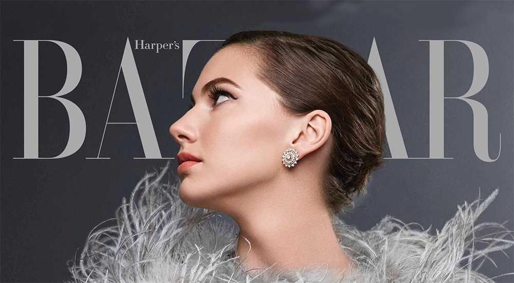 Emma Ferrer - Audrey Hepburn's Granddaughter - Harper's Bazzar