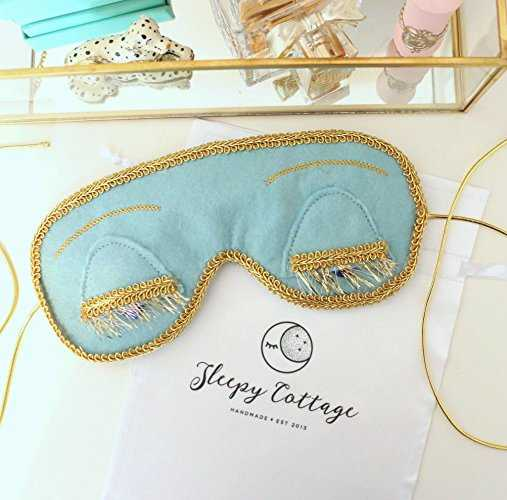 Vintage Holly Golightly Sleep Mask - Sleepy Cottage