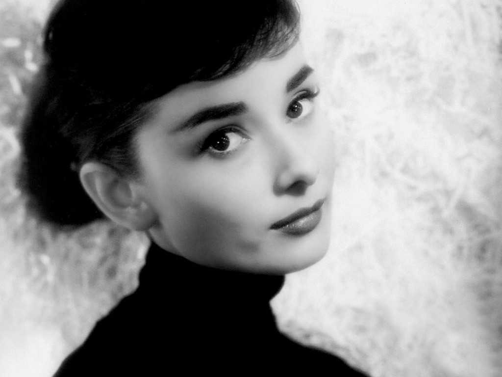 Audrey hepburn Eyelashes and closeup
