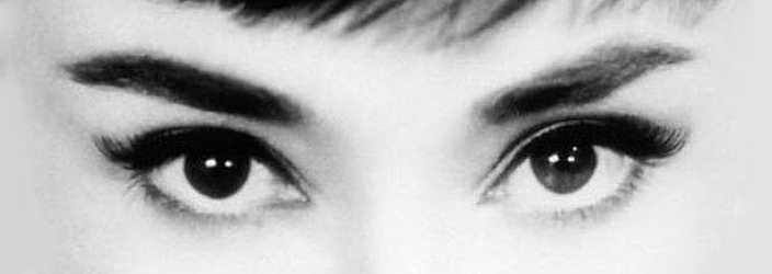 Audrey Hepburn Eyes and Eyeshadow