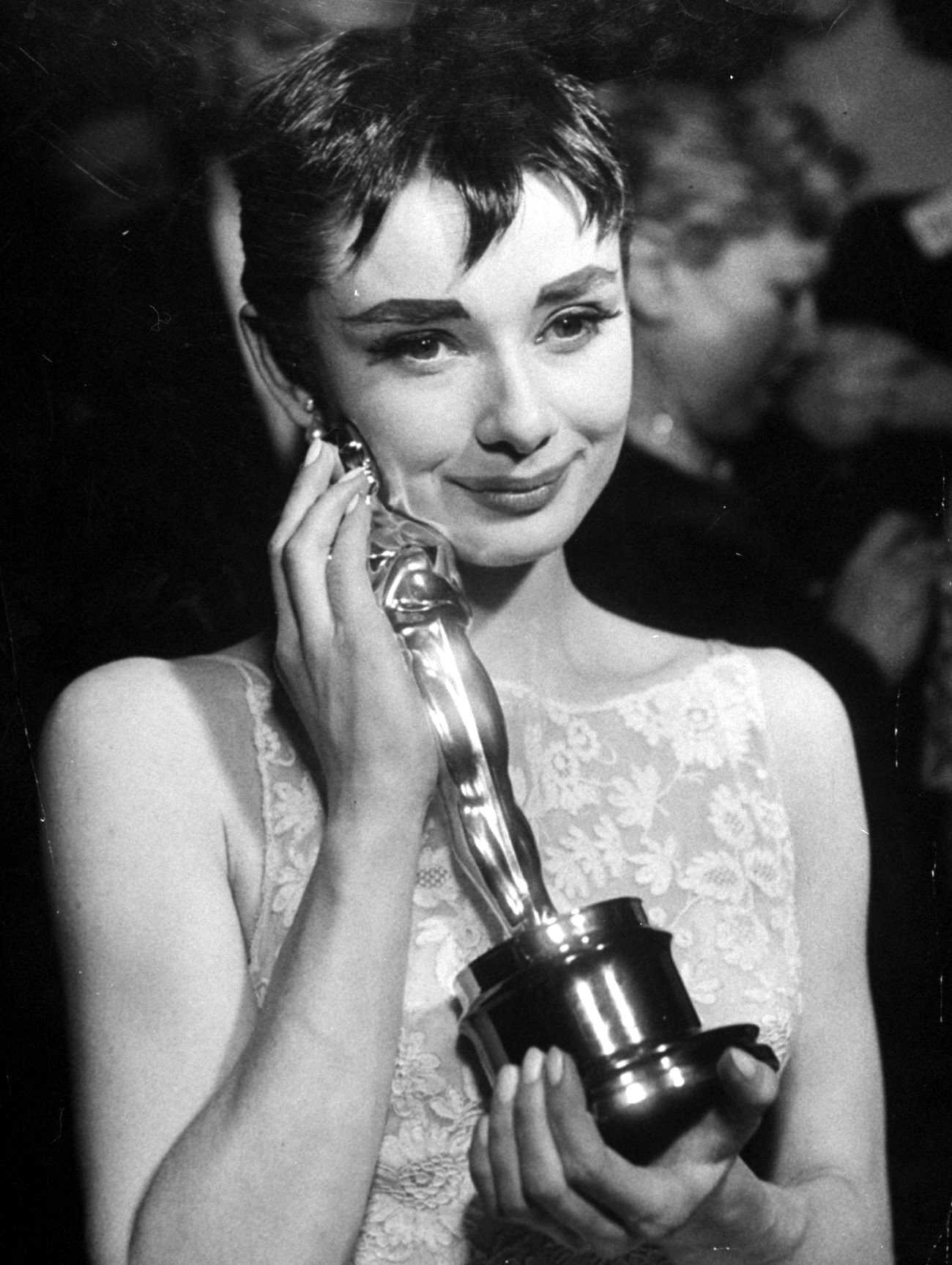 Audrey Hepburn Oscar Award 1954