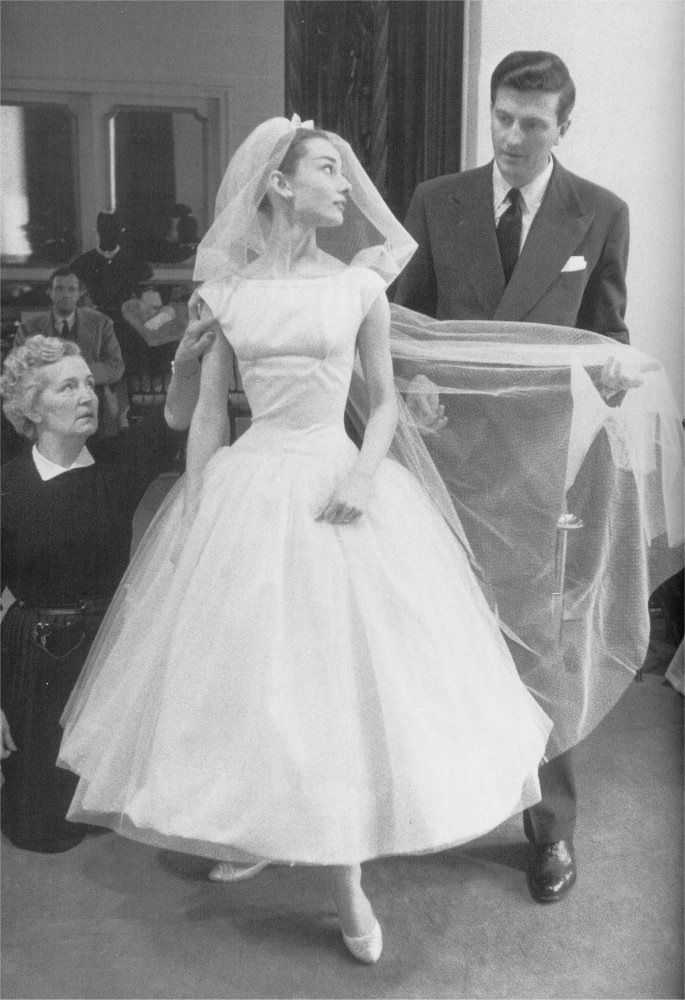 audrey hepburn wedding dress photos ceremonies amp dress