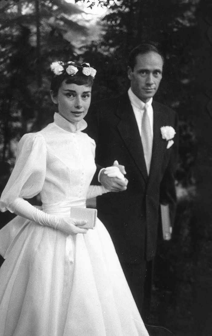 Audrey Hepburn Wedding Dress Photos Ceremonies Amp Dress