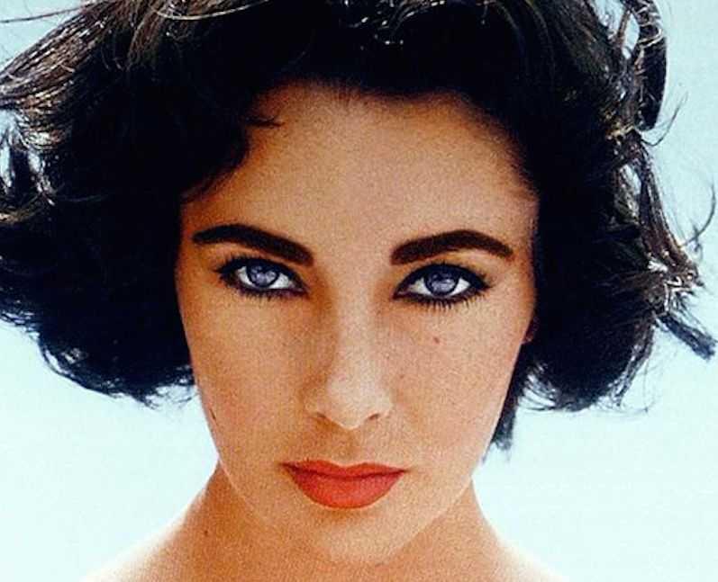 Elizabeth Taylor eye color