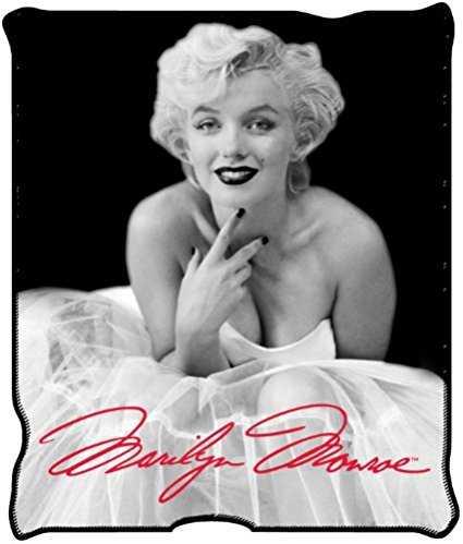 Marilyn Monroe Blanket Throw Micro Plush
