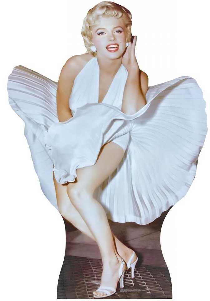 Marilyn Monroe Cutout Standup Cardboard