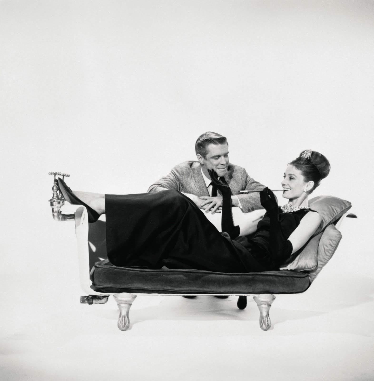Audrey Hepburn Breakfast at Tiffany's Movie Scenes