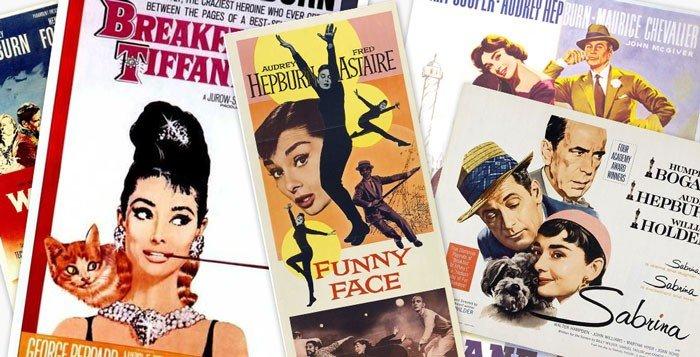 Audrey-Hepburn-movie-posters