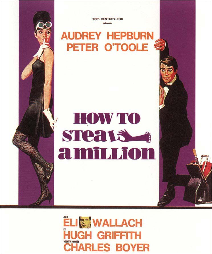 how to steal a million - Audrey Hepburn Movies