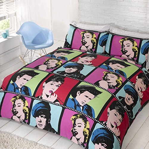 Get this Audrey Hepburn bedding!