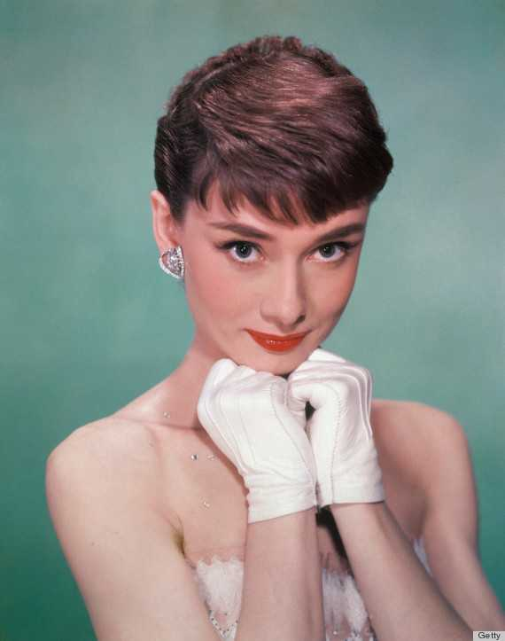 Audrey Hepburn Gloves White