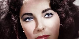 Elizabeth Taylor Eyes - Close up