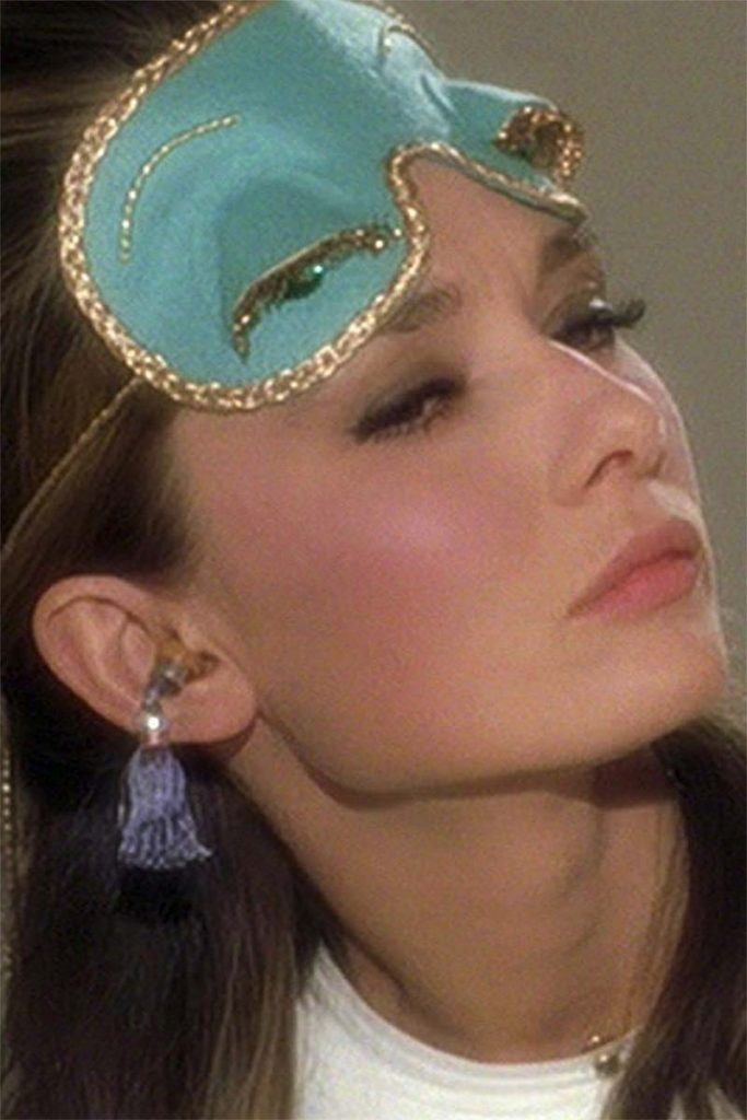 Holly Golightly Sleep Mask in Breakfast at Tiffany's