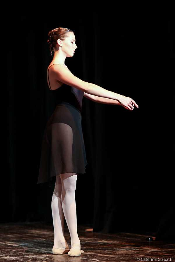 Audrey Hepburn's Granddaughter - Emma Ferrer Ballet