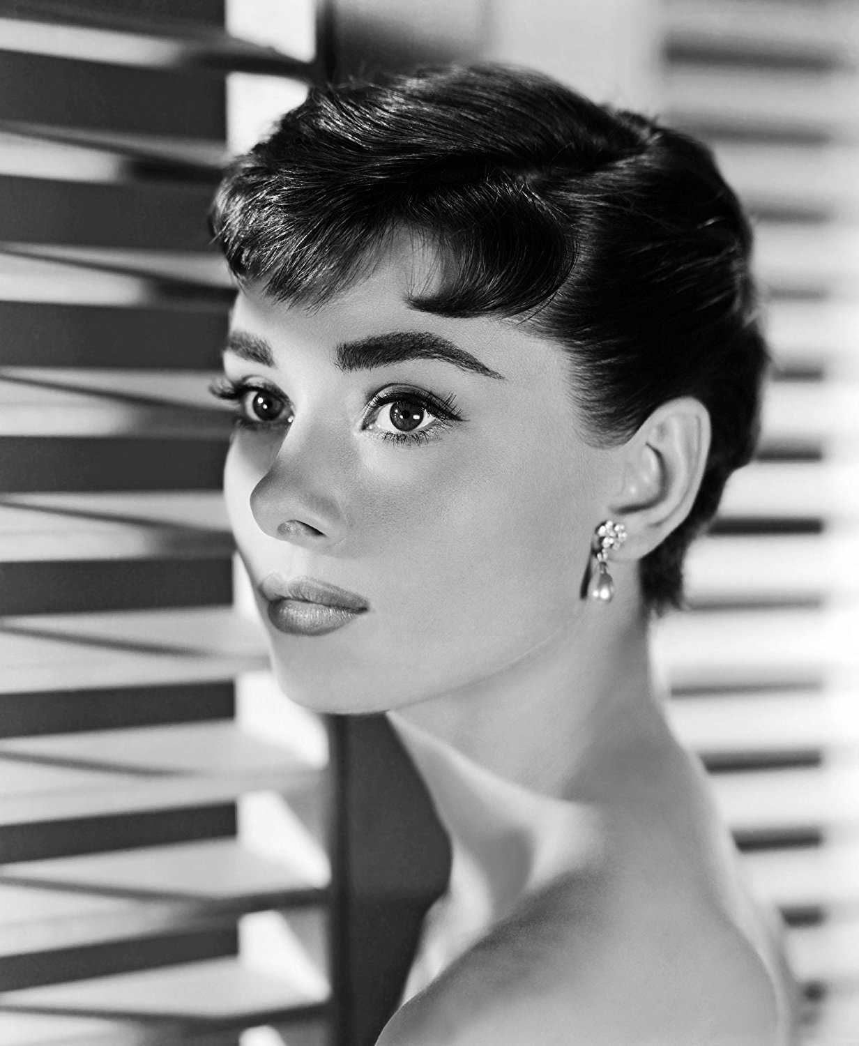 BEST Audrey Hepburn Poster - Blinds Window