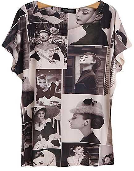 Audrey Hepburn Shirt Collection