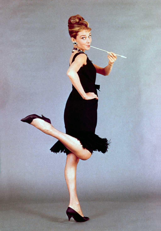 Audrey Hepburn Heels Breakfast at Tiffanys
