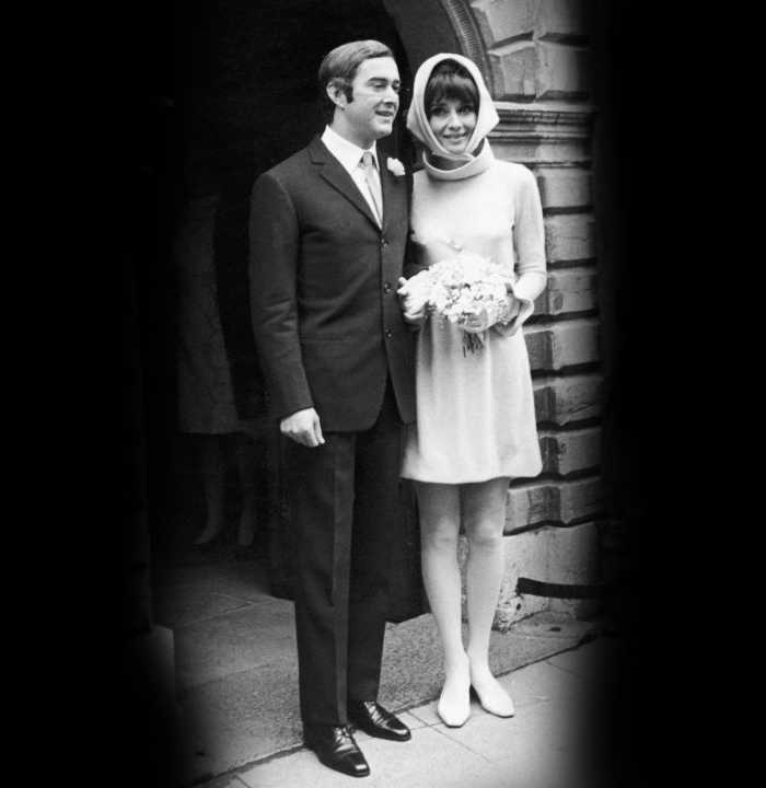 Dotti Second Marriage - Audrey Hepburn Wedding Dress