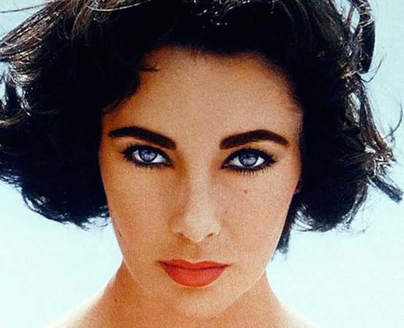 Elizabeth Taylor eye color