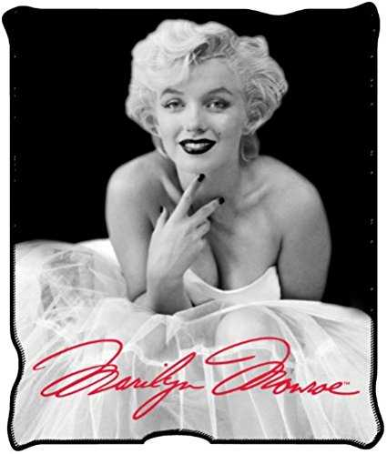 Marilyn Monroe Blanket Throw Micro Plush